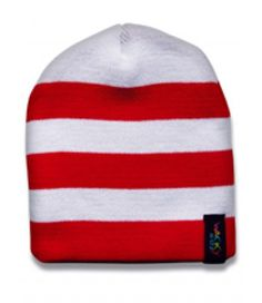 Hat red and white