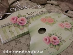 Tole Painting Patterns, Beautiful Images, Shabby Chic, Rose Paintings, Painted Roses, Flowers, Laminas Para Decoupage, How To Paint, Crates