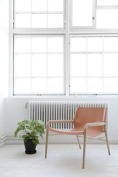 Scandinavian Interior // Rama Chair from OX Denmarq and Rum21.se
