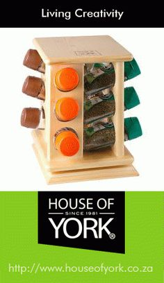 "For the love of spices Rotating Spice Rack Bottle)"" Gifts For Dad, Fathers Day Gifts, Rotating Spice Rack, House Of York, Decorative Items, Spices, Bottle, Creative, Essentials"