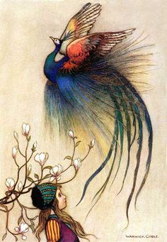 """The Juniper Tree"" by Warwick Goble."