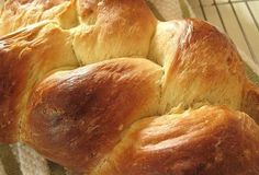 No-Knead Challah  from Artisan Bread in Five Minutes a Day by Jeff Hertzberg and Zoe Francois  Makes four 1-pound loaves. The recipe is easily doubled or halved.
