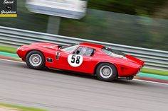 Classic Bizzarrini 5300 GT - Tarek Mahmoud - Masters Gentlemen Drivers Pre-66 GT - Spa Six Hours 2015. FSC