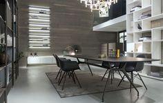 Showroom Genova | Rimadesio in Italia: porte scorrevoli in vetro e alluminio, librerie, cabine armadio