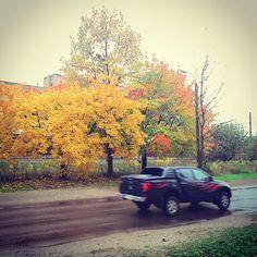 The Rolling Stones - Rain Fall Down  #onemomentcars #car #vehicle #speed #road #way #traffic #onthemove #mitsubishi #l200 #mitsubishil200 #4x4 #pickup #rain #autumn #fall #goldenautumn #trees #leaves #colorful #yellow #weather #nature #осінь #дощ #природа #дерева #авто #машина #дорога