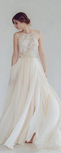 240 best Beach Wedding Dresses images on Pinterest   Designer ...