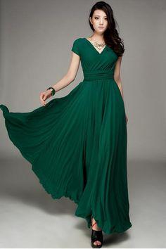 длинные платья с завышенной талией