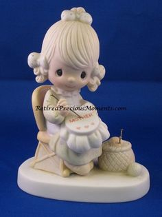Mother Sew Dear - Precious Moment Figurine