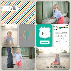 Layout designed by Casey von Stein  #PLxSU; Project Life by Stampin' Up!