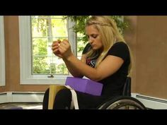 ADAPTIVE YOGA FOR wheelchair users.  >>> See it. Believe it. Do it. Watch thousands of spinal cord injury videos at SPINALpedia.com