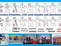 ♥Voodoo-Püppies - ITH & Appli♥ 10x10