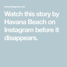 Watch this story by Havana Beach on Instagram before it disappears. Havana Beach, Save Environment, Manly Beach, Smitten Kitchen, Le Moulin, Celebrity Dads, Marketing Digital, Bar Stools, Skin Care