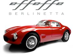Enter the official Effeffe Cars website where to find information, videos,  pictures of the Effeffe Berlinetta by Officine Frigerio.