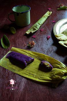 Dapur Comel Selma: Thimpan Ubi Ungu