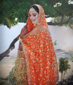 Punjabi Wedding Suit, Punjabi Bride, Pakistani Wedding Dresses, Bridal Dresses, Pakistani Suits, Punjabi Suits, Sikh Bride, Desi Bride, Bride Look