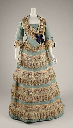 1872 House of Worth ball gown