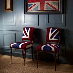 Pip and Pen, Melanie Porter, Chairs, Flag, Union Jack