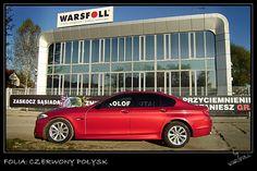 [Folia: Czerwony połysk] Folie samochodowe - Zmiana koloru auta | Warsfoll.com.pl