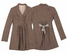 cabbages and roses linen swing coat. Love at first sight!