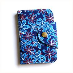 Passport Wallet iPhone Wallet Fabric Wallet by soarshadow on Etsy