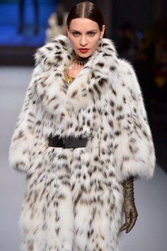Lynx Bellies Fur Coat