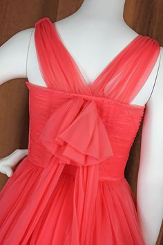 50's Pink Party/Prom Dress  Lace Inset Flouncy by slapmefabulous, $195.00