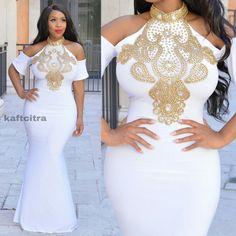 Nadya Sexy Dress ( White colour )