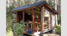 IDEA 2011 -kilpailun voittaja: Huvimaja vanhoista hirsistä Style At Home, Home Fashion, Farmhouse, Cabin, House Styles, Google, Haku, Home Decor, Buildings