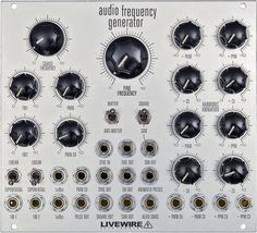 Eurorack Module Audio Frequency Generator (AFG) from Livewire Electronics