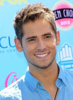 his smile...his facial hair...him altogether <3