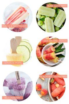 Summertime Treats - Adult Popsicles!