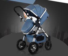 Designer baby stroller High Landscape SUV Design Baby Strollers Foldable 4 Wheels Buggiest 3 in 1 Infants Shock folding