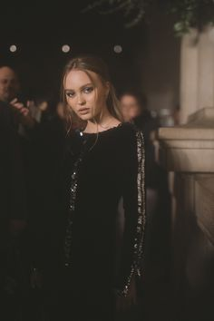What the front row wore to the Chanel pre-fall 2019 show Lily Rose Melody Depp, Lily Rose Depp Style, Shows In Nyc, Vanessa Paradis, Celebrity Red Carpet, Live Fashion, Girl Crushes, Style Icons, Nice Dresses