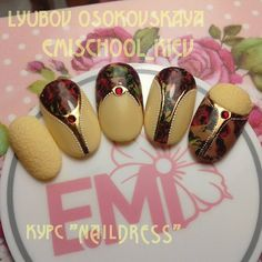 "Новый курс ""Naildress""❤ #Emi #EmiGelSystem #EmiMaster #emimanicure #EmiDesign #emimania #emiroshnichenko #emischool #emischool_kiev #emikiev #EmiLac #parkavenue #gradient #ombre #velvetsand #naildress #gelpaint #EMPASTA #nailart #naildesign #nails2inspire #kyiv Sculpted Gel Nails, School Nails, Beautiful Nail Designs, Creative Nails, Love Nails, Manicure And Pedicure, Thor, Nail Art Designs, My Design"