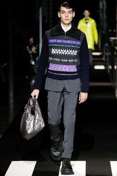Kenzo Fall 2014 Menswear Collection Slideshow on Style.com