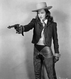 "Ella Raines - ""Tall in the saddle"" 1944"