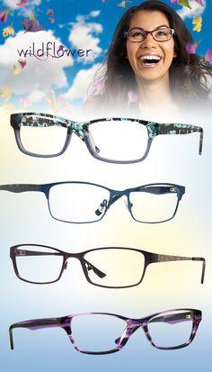 Gals Get Flirty in Wildflower Eyewear: http://eyecessorizeblog.com/2015/07/gals-flirty-wildflower-eyewear/
