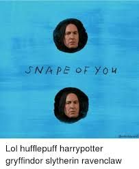 Image result for harry potter hufflepuff get 10 points said no professor ever memes