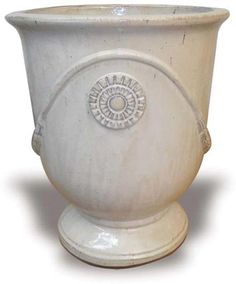 CH992-994 Medallion Urns Urn, Pottery, House, Outdoor, Ceramica, Outdoors, Home, Haus, Pots