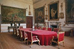 State Dining Room. Grimsthorpe Castle  english castles
