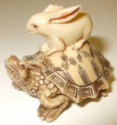 netsuke rabbit - Google Search