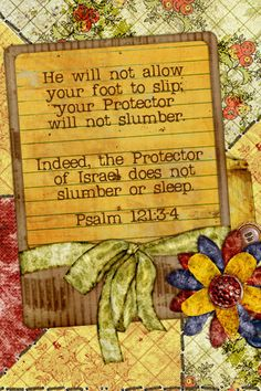 Psalm 121_3and4