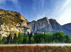 Yosemite Falls, Yosemite National Park. Photo by Kari Cobb.