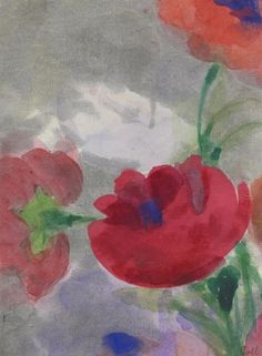Emil Nolde, Poppies