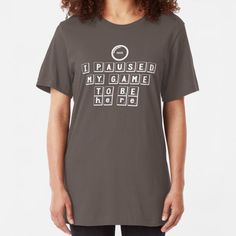 """""""Please saty away from me to protect ourselves """" T-shirt by Ennoukra Cotton Tote Bags, Chiffon Tops, Classic T Shirts, T Shirts For Women, Mens Tops, Stuff To Buy, Fashion, Moda, Fashion Styles"""