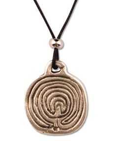 Spiral Necklace: Soul Flower Clothing