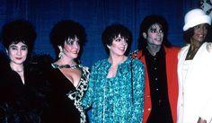MJ, Liza Minelli, Whitney Houston, Elizabeth Taylor, Yoko Ono. Great pictures