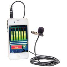 Azden I-coustics Ex-503 Studio Pro Lapel Microphone For Smartphones & Tablets