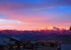Sunrise Pikes Peak, 3/2/2014, photo by Amy Lilley