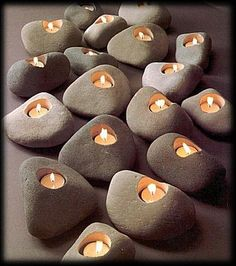 Rock Lites Candle Voltive Holder✖️Fosterginger.Pinterest.Com✖️No Pin Limits✖️More Pins Like This One At FOSTERGINGER @ Pinterest
